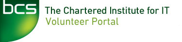 BCS Volunteer portal logo